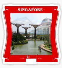 Singapore - Lion City Sticker
