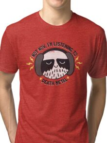 I'M HAVING A LITTLE ME TIME Tri-blend T-Shirt