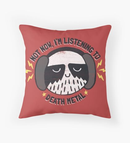 I'M HAVING A LITTLE ME TIME Throw Pillow