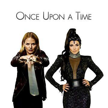 """""""Savior & Evil Queen""""  Swan Queen by fairytalelove"""