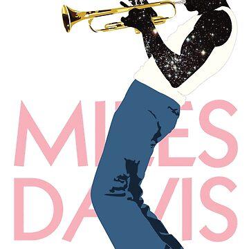 Miles Davis by Gabatron3000