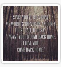 Picture lyrics Sticker