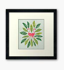 Flamingos Gerahmtes Wandbild
