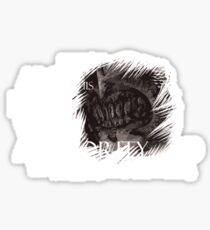 Mouth of Sauron Sticker