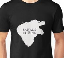 Saiyans Are Coming Unisex T-Shirt
