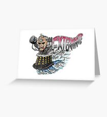 Davros Greeting Card