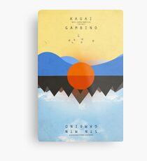 KAUAI Chained Metal Print