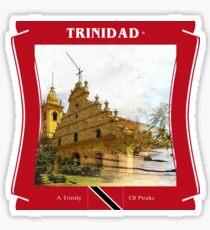 Trinidad - Land des Kolibri Sticker