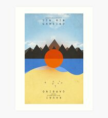 STN MTN Chained Art Print