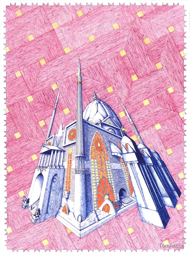 """""""The Temple Celeste"""" by TomAsche"""