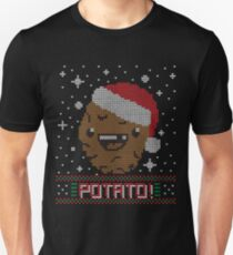 UGLY POTATO CHRISTMAS SWEATER ERMAHGERD!! T-Shirt