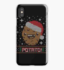 UGLY POTATO CHRISTMAS SWEATER ERMAHGERD!! iPhone Case/Skin