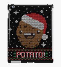 UGLY POTATO CHRISTMAS SWEATER ERMAHGERD!! iPad Case/Skin