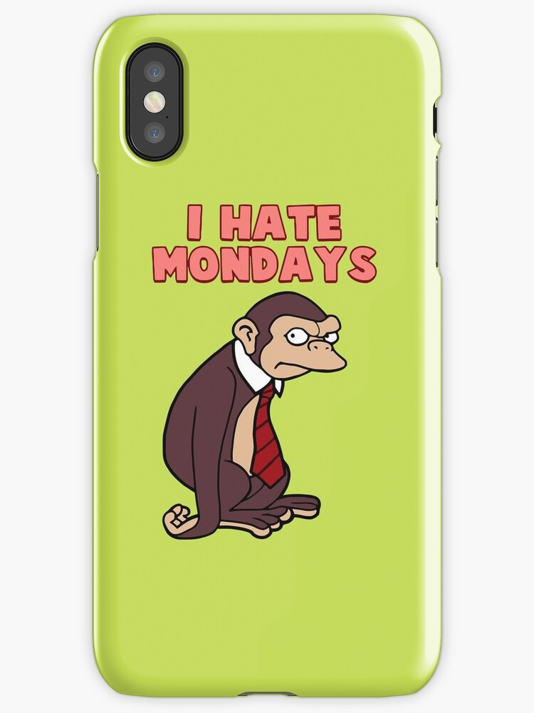 Monday Monkey Lives For The Weekend, Sir. by agenda