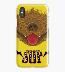 Sup Pup Happy Dog iPhone Case