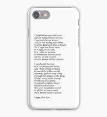 A dream within a dream. iPhone Case/Skin