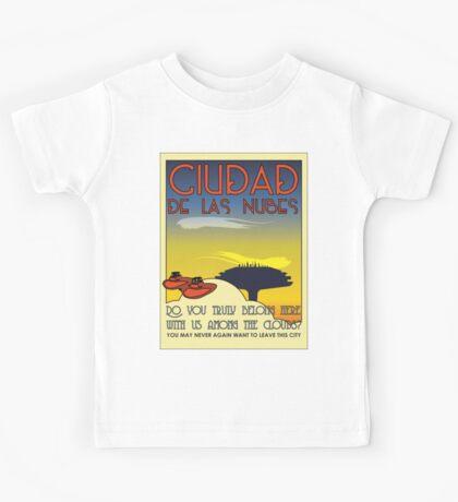 Ciudad De Las Nubes -  T-shirt and Poster Kids Clothes