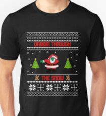 "Dabbin' Through The Snow ""Ugly Christmas Sweater"" T-Shirt"