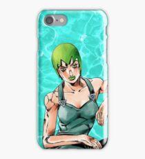 Foo Fighters JJBA water iPhone Case/Skin