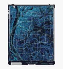 USGS TOPO Map Arkansas AR Bethesda 259937 1942 31680 Inverted iPad Case/Skin
