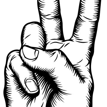 Peace Sign Fingers by GoldMedia
