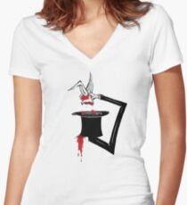 Magic Trix Women's Fitted V-Neck T-Shirt