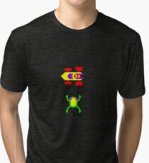 Arcade Love - Frogger Tri-blend T-Shirt
