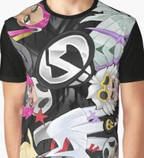 TEAM SKULL Graphic T-Shirt