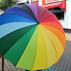 Rainbow in a Brolly by kalaryder