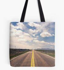 Explore New Roads Tote Bag