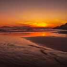 Squeaky Beach Sunset by Daniel Berends