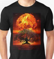 Uluru is a Nuked Tree Stump Unisex T-Shirt