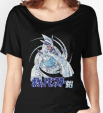 Pocket Monsters: Silver Distressed Women's Relaxed Fit T-Shirt