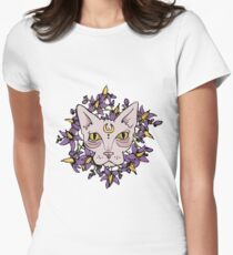 Naked Nightshade Women's Fitted T-Shirt