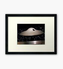 Lost in Space Spaceship Framed Print