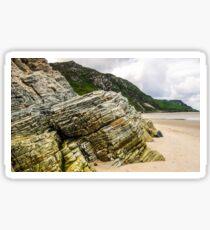 Rocks of Maghera Beach - Ireland #2 Sticker
