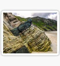 Rocks of Maghera Beach - Ireland #3 Sticker