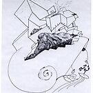 Petits Dessins Debiles - Small Weak Drawings#01 by Pascale Baud