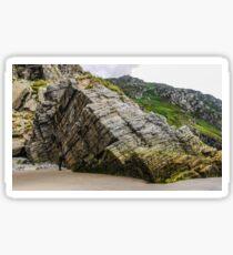 Rocks of Maghera Beach - Ireland #7 Sticker