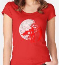 Moonlit Huntress Women's Fitted Scoop T-Shirt