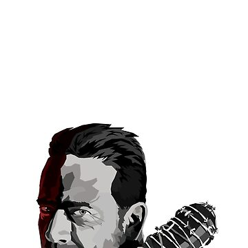 Negan and Lucille by gageef