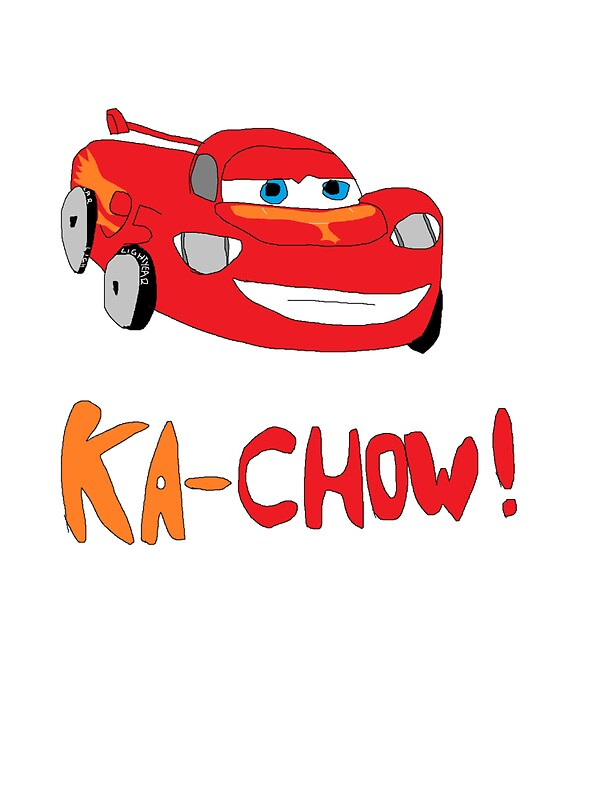 Quot Ka Chow Quot Stickers By Poojpong Redbubble