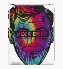Neck Deep Tie-dye iPad Case/Skin