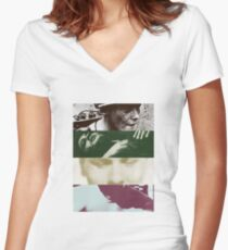 The Smiths Albums Women's Fitted V-Neck T-Shirt