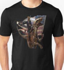 Donald Trump Riding A dinosaur Unisex T-Shirt
