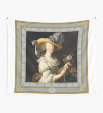 Marie Antoinette Queen of Style Wall Tapestry