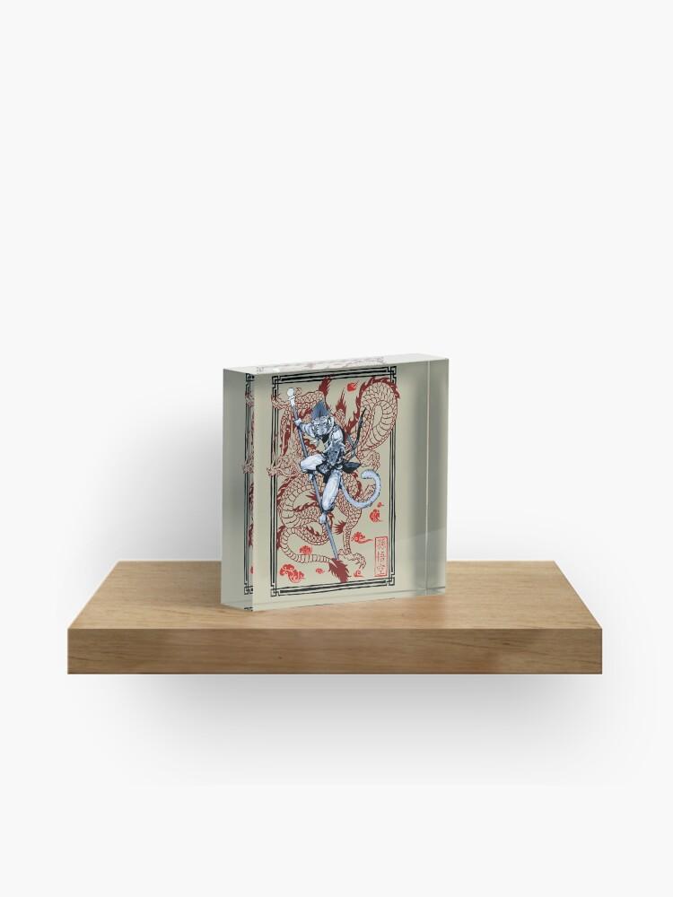 Sun Wukong   Acrylic Block