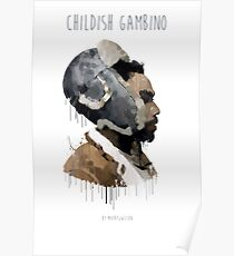 Gambino Droplet No Background Poster