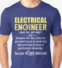 a306ce33 Electrical Engineer Shirt - Electrical Engineer Definition Slim Fit T-Shirt