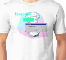 Vaporwave Error 404 Contact Unisex T-Shirt